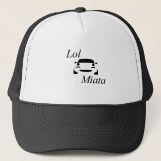 Lol miata trucker hat