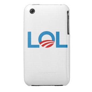 LOL OBAMA iPhone 3 Case-Mate CASES
