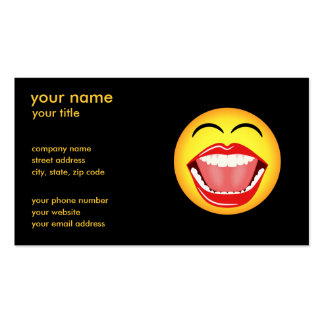 LOL Smiley Face Business Cards