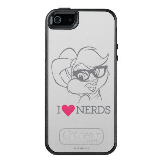 Lola Bunny - I Heart Nerds 2 OtterBox iPhone 5/5s/SE Case