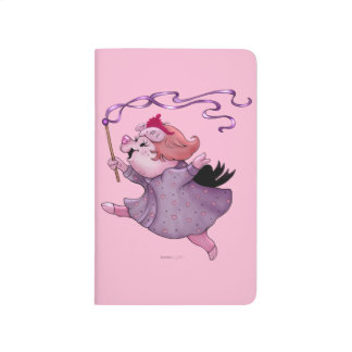 LOLA PIGGY CUTE CARTOON Pocket Journal monster