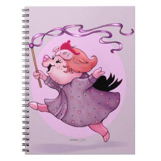 LOLA PIGGY  NOTE book