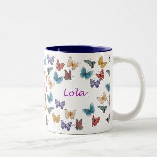 Lola Two-Tone Coffee Mug