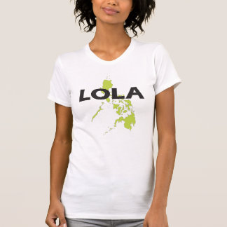 Lola with Philippines map Tshirts