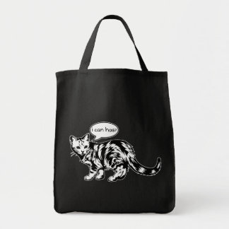 lolcat - i can has tote bags