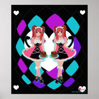 Lolita Neko Maids Poster