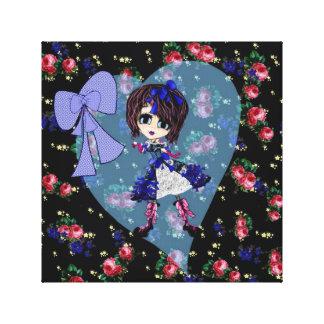 LOLITA sweet gothic girl gothloli personalized Canvas Prints