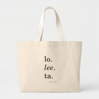 Lolita - Vladimir Nabokov Jumbo Tote Bag