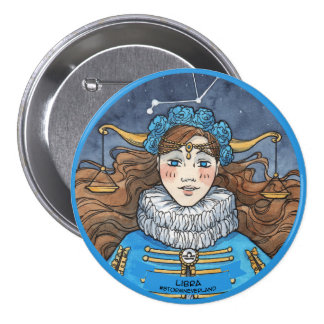 Lolita Zodiac: Libra 7.5 Cm Round Badge