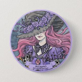 Lolita Zodiac: Scorpio 7.5 Cm Round Badge