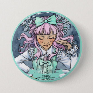 Lolita Zodiac: Virgo 7.5 Cm Round Badge