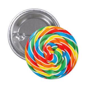 Lollipop Pinback Button
