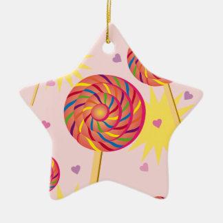 Lollipop Dance Christmas Ornament