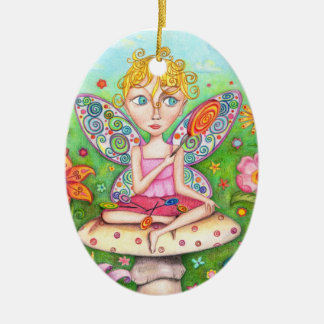 Lollipop Fairy Ornament