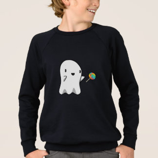 Lollipop Ghost (kids) Sweatshirt