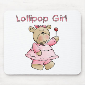 Lollipop Girl Mouse Pad