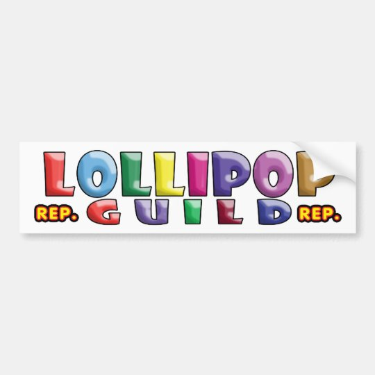 Lollipop Guild Bumper Sticker