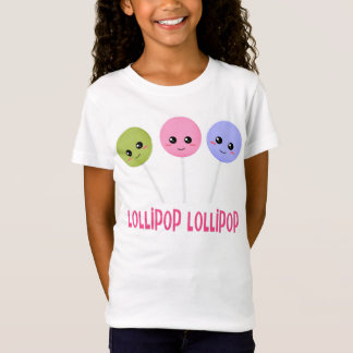 Lollipop Lollipop Green Pink Purple Kawaii Style T-Shirt