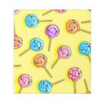 Lollipop Note Pad