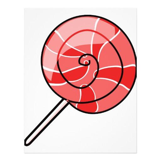 LolliPop red 21.5 Cm X 28 Cm Flyer