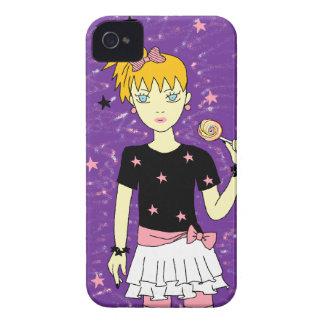 Lollipop Stars Girl iPhone 4 Case
