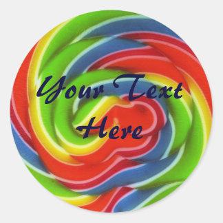 Lollipop Stickers