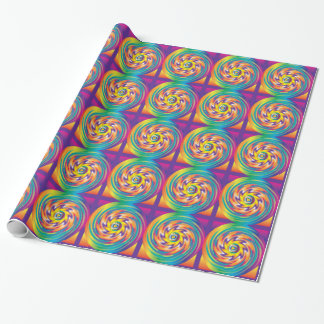 Lollipop Swirl Gift Wrapping Paper