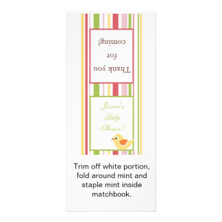 Lollipop Topper Love and Nature Girl Woodland Owl Rack Card