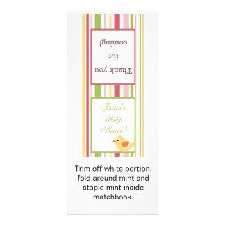 Lollipop Topper Love and Nature Girl Woodland Owl Custom Rack Cards