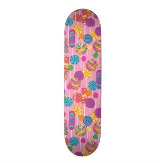 Lollipops Candy Pattern 19.7 Cm Skateboard Deck
