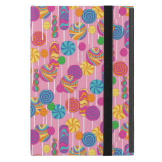 Lollipops Candy Pattern Cover For iPad Mini