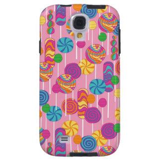 Lollipops Candy Pattern Galaxy S4 Case