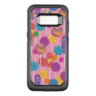 Lollipops Candy Pattern OtterBox Commuter Samsung Galaxy S8 Case