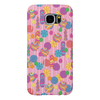 Lollipops Candy Pattern Samsung Galaxy S6 Cases