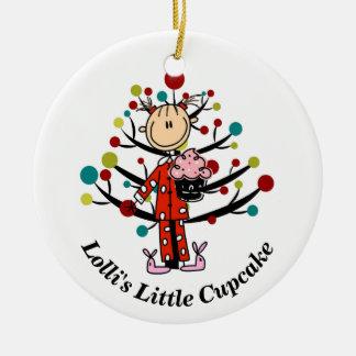 Lolli's Little Cupcake Ornament