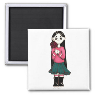 lolly square magnet