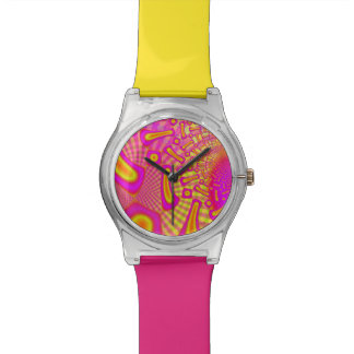 LollyPoP 3D Fused Glass Fractal Watch