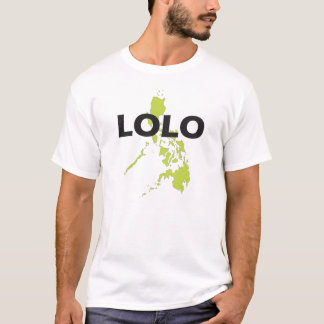 Lolo Philippines Map T-Shirt