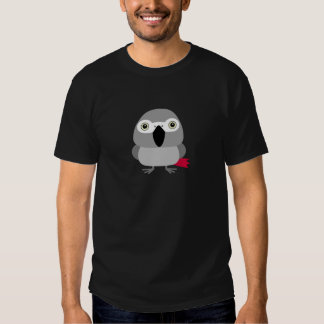 Lolo, the African Grey parrot character Shirts