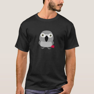 Lolo, the African Grey parrot character T-Shirt