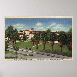 Loma Linda Sanitarium & Hospital View Poster