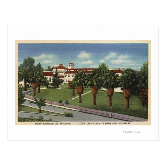 Loma Linda Sanitorium & Hospital View Postcard