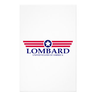 Lombard Pride Personalized Stationery
