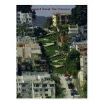Lombard Street, San Francisco Postcard