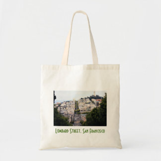 Lombard Street, San Francisco Budget Tote Bag
