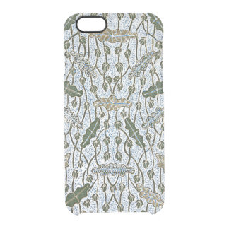 Lompongan Teratai Lotus Batik Clear iPhone 6/6S Case