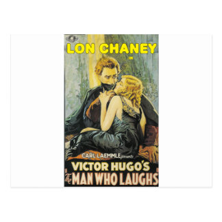 Lon Chaney is The Man Who Laughs Postcards