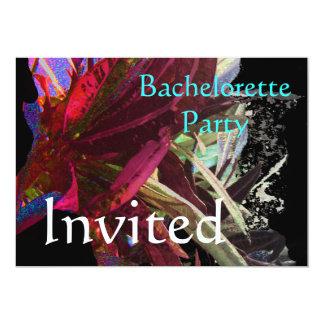 Lonavala Foliage - Abstract 13 Cm X 18 Cm Invitation Card