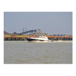 Londinium III Patrol Boat Postcard