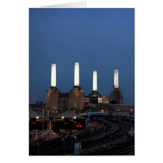Londo Power Station Greeting Card